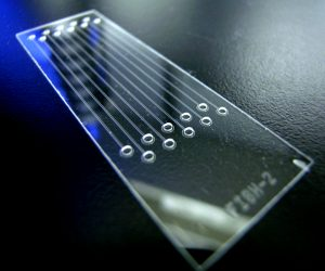 Microfluidic foundry microfabrication lab on a chip chip